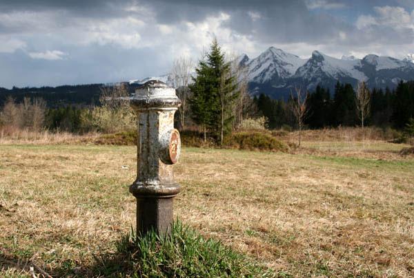 Słupek graniczny zabytkowy - Jurgów - Bukowina Tatrzańska