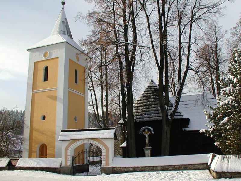 Drewniany zabytkowy Kościół - Jurgów -Bukowina Tatrzańska